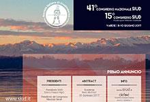 locandina annuncio congresso nazionale SIUD 2017