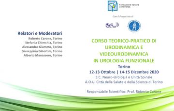 Corso Teorico-Pratico di Urodinamica e Videourodinamica header